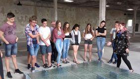 Gegen das Vergessen: Besuch der Gedenkstätte Osthofen