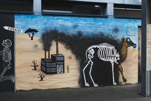 Zerstörung der Böden, Ausbreitung der Wüsten, Verlust der  Artenvielfalt, Luftverschmutzung
