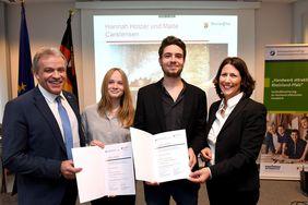 Preisverleihung im Wirtschaftsministerium, Mainz